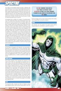 Heroes & Villains, Vol. 2 PDF Preview: Spectre