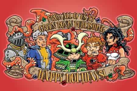 Happy Holidays from Green Ronin Publishing!