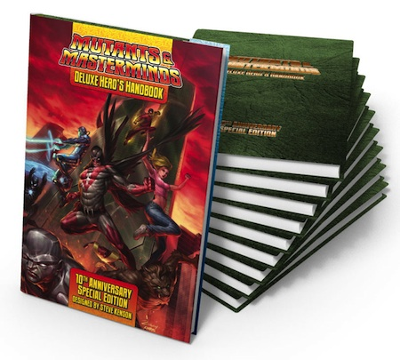 M&M Deluxe Hero's Handbook 10-Year Anniversary Edition