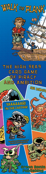 Walk the Plank: The Card Game of Piracy and Ambition