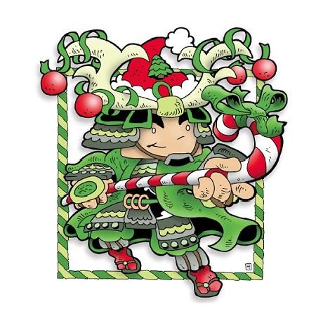 2005 Green Ronin holiday card, art by Ramsay Hong
