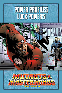 Mutants & Masterminds Power Profile: Luck Powers