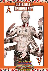 Wild Cards SCARE Sheet 5: Drummer Boy