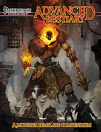 Pre-Order the Advanced Bestiary for the Pathfinder RPG