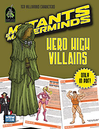 Hero High Villains (PDF)