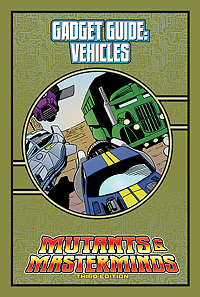 Mutants & Masterminds Gadget Guide: Vehicles