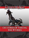 Dragon Age Creatures of Thedas: The Wyvern
