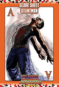 Wild Cards SCARE Sheet 13: Stuntman