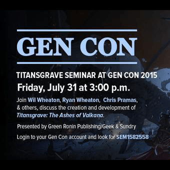 Titansgrave at Gen Con