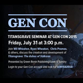 Titansgrave at Gen Con