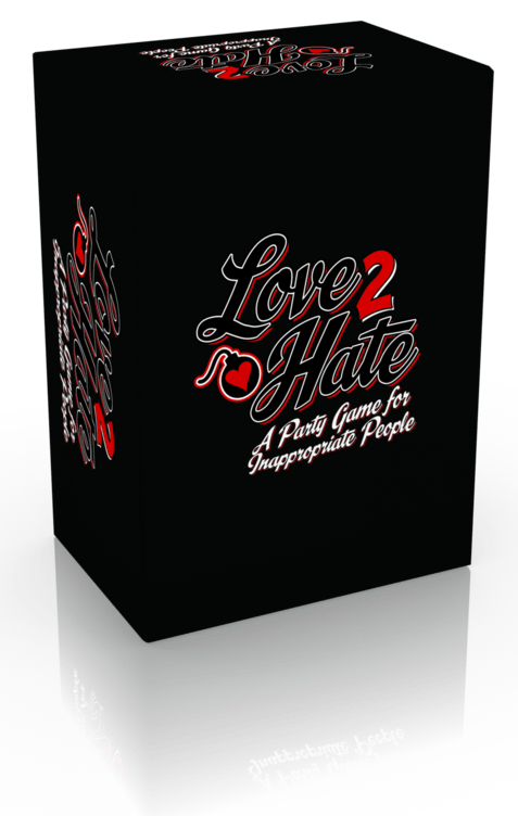 Love 2 Hate: A Party Game for Inappropriate People