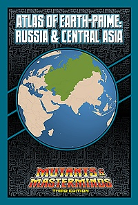 Atlas of Earth-Prime: Russia & Central Asia