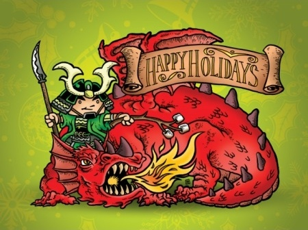 Happy Holidays from Green Ronin!