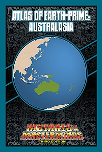 Atlas of Earth-Prime: Australasia (PDF)
