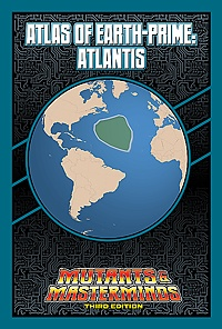 Atlas of Earth-Prime: Atlantis