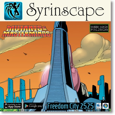 Syrinscape SoundSet: Freedom City 2525