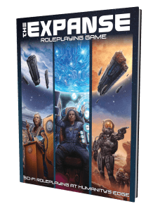 The Expanse Roleplaying Game cover
