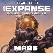 Mars: I backed The Expanse RPG on Kickstarter