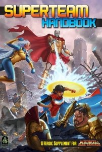 Superteam Handbook for Mutants & Masterminds!