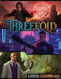 Threefold: A Setting For the Modern AGE RPG