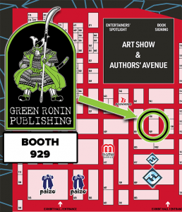 Come see Green Ronin at Gen Con Booth 929