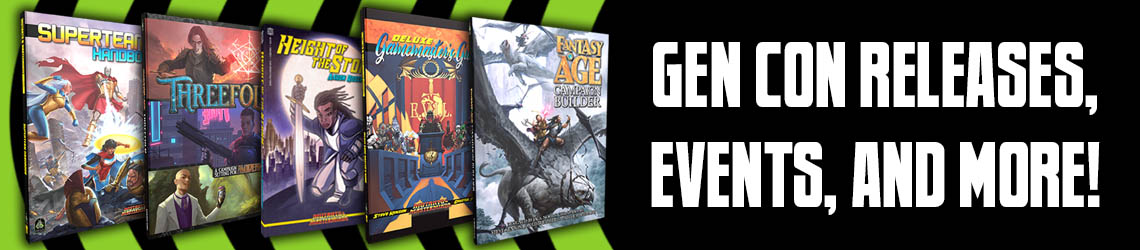 Gen Con 2019 Releases, Events, and More!
