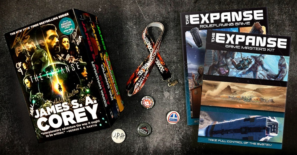Enter The Expanse Sweepstakes
