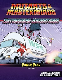 Astonishing Adventures: Power Play