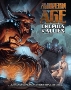 Enemies and Allies for Modern AGE