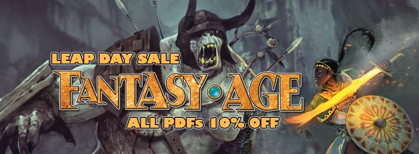 Leap Day Sale! All Fantasy AGE PDFs 10% Off