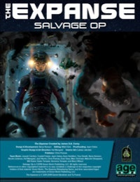 Salvage Op: A short adventure PDF for The Expanse RPG