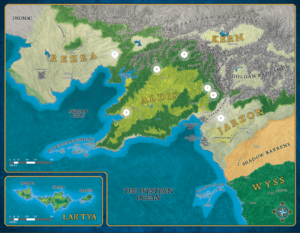 The Western Kingdoms of Aldea