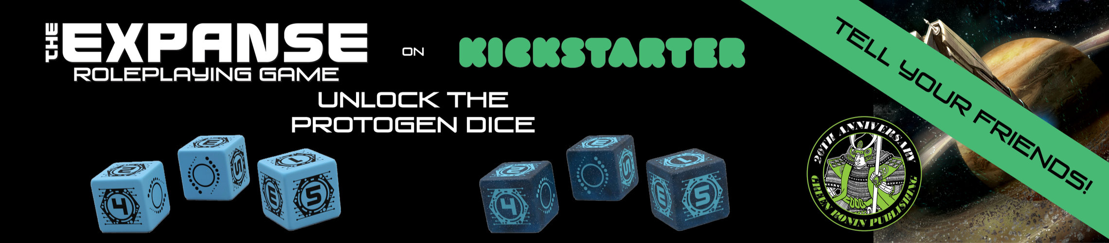 The Expanse Dice Sets on Kickstarter: Unlock the Protogen Dice!