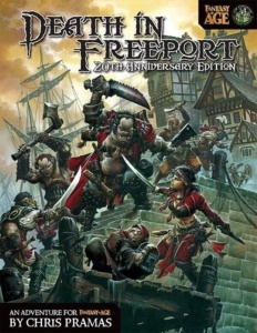 Death In Freeport for Fantasy AGE