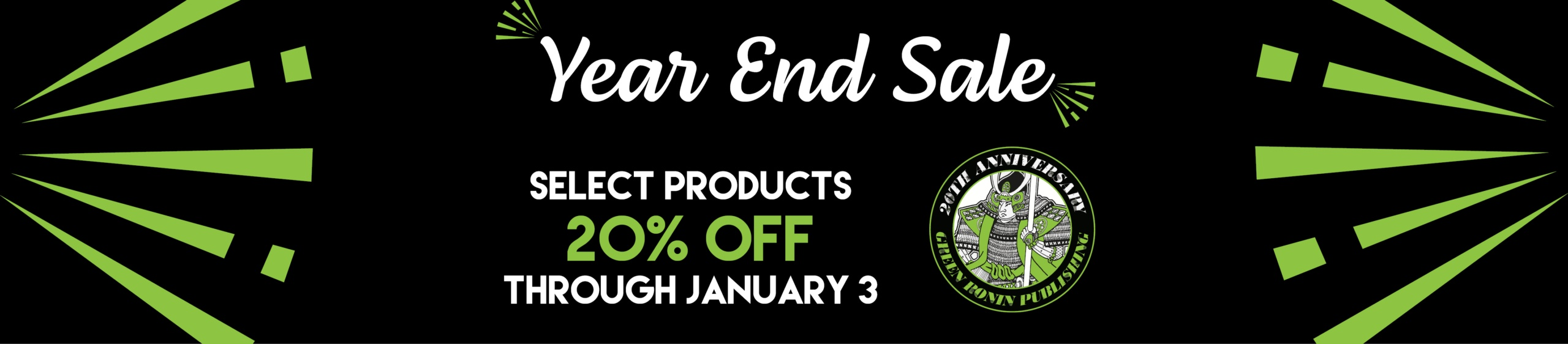 Year End Sale 2020