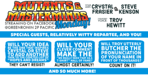 Mutants & Masterminds Monday!