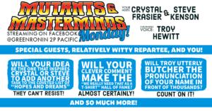Mutants & Masterminds Monday!