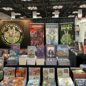 Green Ronin booth at Gen Con 2021!