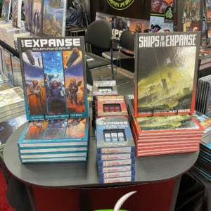 Ships of the Expanse was available in print for Gen Con!