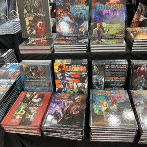 Gen Con classics from the AGE system games.