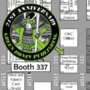 Come see Green Ronin at Origins Game Fair in Booth 337!